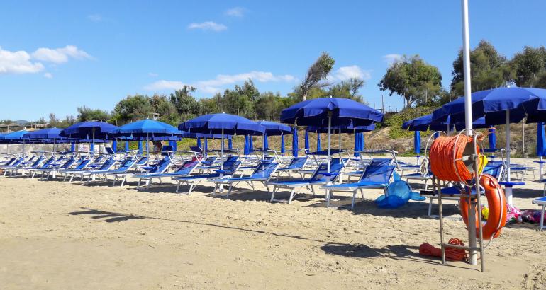Servizio Spiaggia – Ombrelloni – Lettini – Sdraio